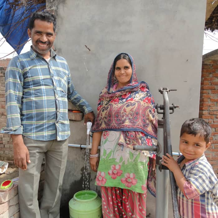 Project Pyas clean water project from Noah's Ark benefits families