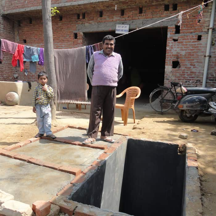 Noah's Ark home sanitation project toilet - Rajpal