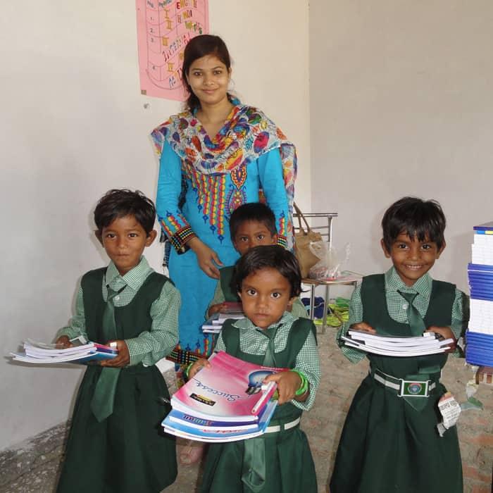 Project Ashakiran school children - Noah's Ark