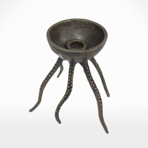 octopus-candle-holder