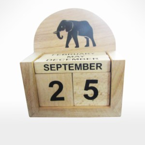 Desk Calendar by Noah's Ark