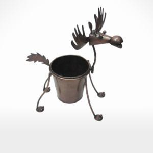 Deer Planter by Noah's Ark Exports