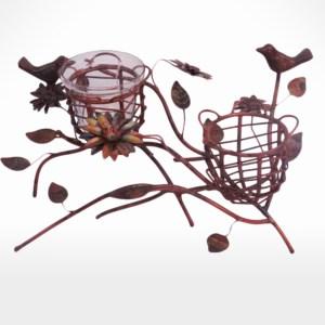 Tea Light Holder Nest by Noah's Ark