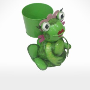 Frog Planter by Noah's Ark Exports