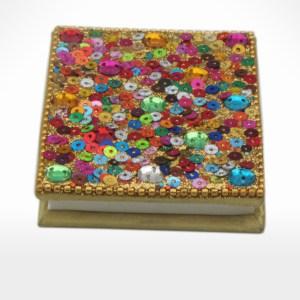 Glitter Rectangular Notebook by Noah's Ark Exports