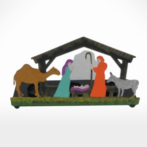 Nativity T-Light Holder  by Noah's Ark