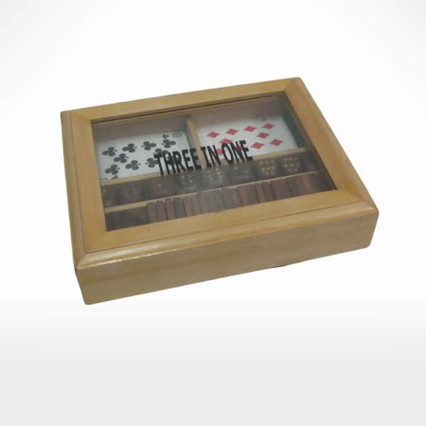 Card Box With Domino & Dice by Noah's Ark