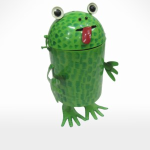 Frog Shape Box Planter by Noah's Ark Exports