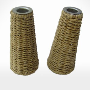 Woven Candle Holder  by Noah's Ark