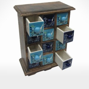 Ceramic Drawer Cabinet by Noah's Ark
