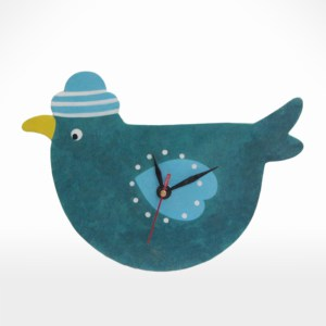 Bird Design Clock by Noah's Ark