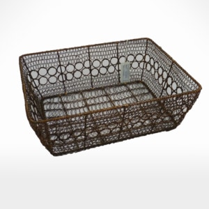 Basket by Noah's Ark Exports