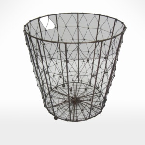 Wire Planter by Noah's Ark Exports